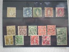 Schweiz  -   div. alte Briefmarken