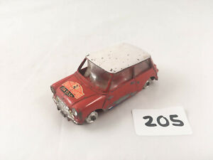 CORGI TOY # 321 1966 MONTE CARLO RALLY BMC MINI COOPER TIMO MAKKINEN PAUL EASTER