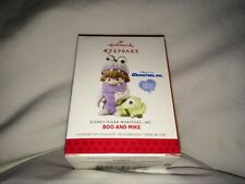 Hallmark Keepsake Ornaments Precious Moments Boo and Mike, Monsters Inc. 2013