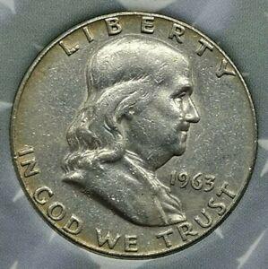 Silver Franklin Half Dollar 1963-D UNITED STATES (366B)