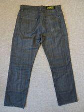 Mens Barbour International Black Jeans VGC - W34 L32