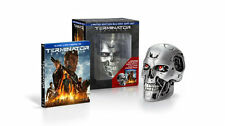 Terminator Genisys Limited Edition Blu-Ray+DVD+Digital HD and Endo Skull NEW!