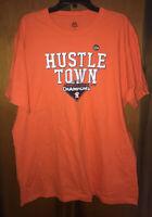 New 2019 Houston Astros Hustle Town ALCS Champions Shirt, Orange, Mens Sz XL