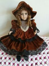 Beautiful Porcelain Doll 20 inches.