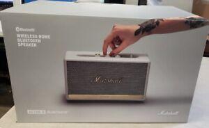 Marshall  Acton II Bluetooth Speaker WHITE (New) Never opened/ clean box.