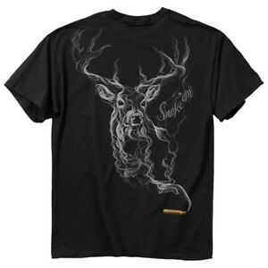 Buck Wear Smoke Em Hunting Deer T-Shirt