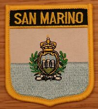 SAN MARINO Shield Country Flag Embroidered PATCH Badge P1