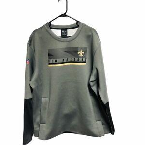 New Orleans Saints NFL On Field Apparel Nike Dri-Fit Sweatshirt XL