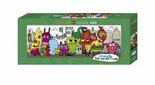1000 PIECEJIGSAW PUZZLE HY29601 - Heye Puzzles Panorama Dans le City, Burgerman