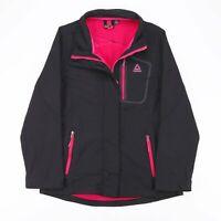 REEBOK  Black 00s Polyester Activewear Track Jacket Womens M