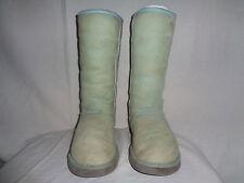 UGG AUSTRALIA CLASSIC TALL BOOTS BABY BLUE SHEEPSKIN S/N 5815 SZ US 10