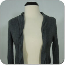 MOSSIMO Women's/Juniors Gray Cardigan Sweater, Long Sleeves, size M