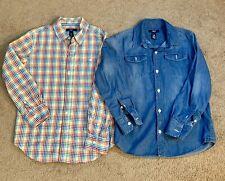 GAP Kids Boys M (8-9 Yrs) Shirts Long Sleeve