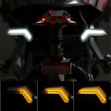 2X Motorcycle ATV LED Indicator Light Sequential Flash Blinker Driving Lamp Mark