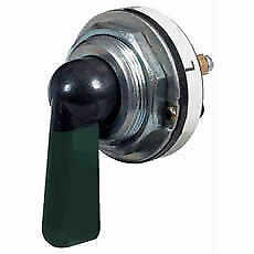 DURITE 0-484-00 Indicator Switch or 3 Way Rotary Switch Green Illuminated Lever