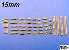 15mm 1/100th Sherman stowage kit Flames of War, Team Yankee 15/3