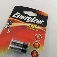 2x NEU ENERGIZER Batterie: alkalisch; 12V; 27A , 8LR50 , MN27 ; Ø8x28mm