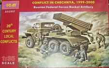 BM-21 Russian Federal Forces Rocket Artillery 1/35 ICM 35282 (Requires assembly)