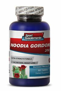 Botanical Slimming-Hoodia Gordonii Cactus 2000mg Ultimate Calorie Burn Pills 1B
