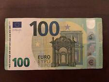 100 Euros 2019 Series Banknote. 100 Euro Circulated Good Condition. Banknotes