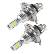 Fit Yamaha XV250 V Star 250 2008-2017 100W H4 9003 LED Headlight Bulbs Kit White
