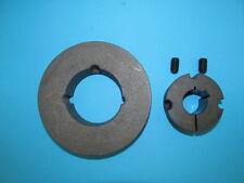 113500 Keilriemenscheibe Riemenscheibe 13/SPA 125 x 1 + Buchse 20mm 1Rillig