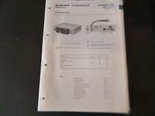 Original Service Manual Schaltplan Blaupunkt Koblenz CB