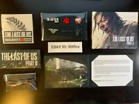 THE LAST OF US PART 2 - BRACELET, STICKERS, LITHOGRAPH, PINS, ART BOOK & PATCH