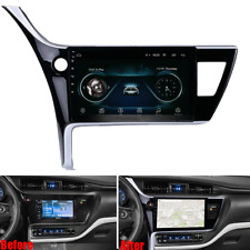 10.1'' For 2017 Toyota Corolla Android 8.1 Stereo Radio Player GPS Navi Wifi FM