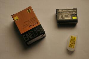 Nikon EN-EL15 Batteria D600 D610 D600E D800 D800E D810 D7000 D7100 D750 V1 +BOX