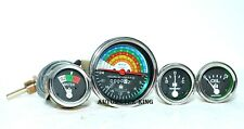 IH Farmall Gauge Set 300 350 Gas  Utility Tachometer  Temperature  Oil  Ampere