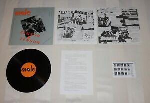 Male : Zensur & Zensur, Rare Vinyl LP + OIS + Promo Infoblatt + Card 1990