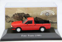 Altaya 1:43 IXO Ford Pampa 1989 Diecast Models Limited Edition Toys Car Gift