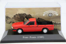 Altaya 1:43 Ford Pampa 1989 Diecast Models Limited Edition Auto red
