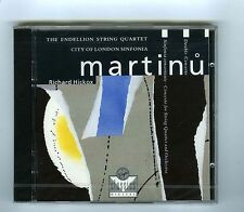 CD  MARTINU DOUBLE CONCERTO RICHARD HICKOX (LONDON SINFONIA)