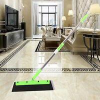 Magic Broom Sweeper Dust Hair Bathroom Wiper Broom Rotate Connector Rubber Tool
