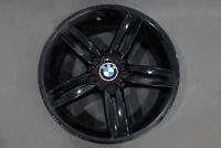 """BMW 1 Series 2 E81 E87 Black Rear Alloy Wheel Rim 18"""" M double Spoke 208 8J"""