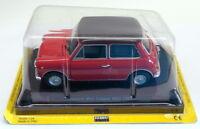 Fabbri Editori 1/24 Scale Diecast 099 - Innocenti Mini Cooper Mk3 1300 - Red