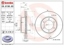 Disc Brake Rotor-Premium UV Coated OE Equivalent Rotor Front Brembo 09.8196.81