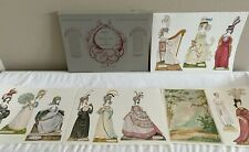 VINTAGE 1988 EMMA A YOUNG LADY OF FASHION 1794-1797 PAPER DOLL JOHN DARCY NOBLE