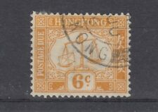 Hong Kong 1931 6c Postage Due SGD4a VFU J5100