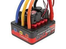 TrackStar 1/8th Waterproof Brushless 4S 120A waterproof ESC V2 Slash SC10 SCTE