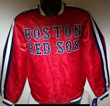 BOSTON RED SOX MLB STARTER Snap Down Jacket Fall 2019 RED/BLUE