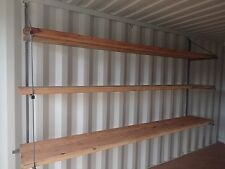 SHIPPING CONTAINER SHELVING SYSTEM