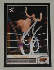 Cody Rhodes Signed WWE 2014 Topps Road to Wrestlemania Bronze Card #32 Autograph