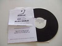 """MBG,Alex Kenji–Don't Tell Me Lies/Don't Stop-Disco 12"""" Vinile W/L PROMO  ITALIA"""