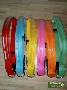 Luminous, Adjustable LED Collar, Hundeleuchthalsband, Different Colours