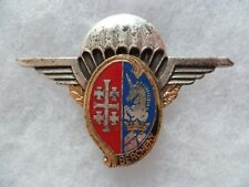 Insigne Parachutiste MUSIQUE FANFARE 1° RHP ORIGINAL BALME vintage para badge