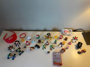 LOT of Mixed Super Mario Bros Figures - Nintendo, Mario, Luigi, And Other Items!
