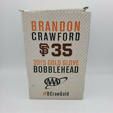 San Francisco Giants Brandon Crawford Gold Glove Bobblehead 5/7/2016 SGA